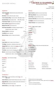 crown menu